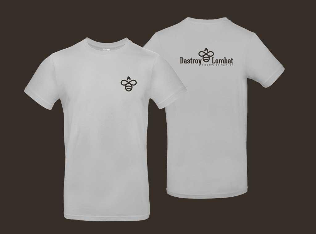 Marquage T-shirt Dastroy Lombat